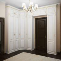 Шкафы в прихожей в классическом стиле
