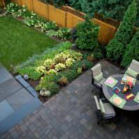 Зонирование садового участка