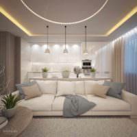 пример красивого стиля гостиной картинка