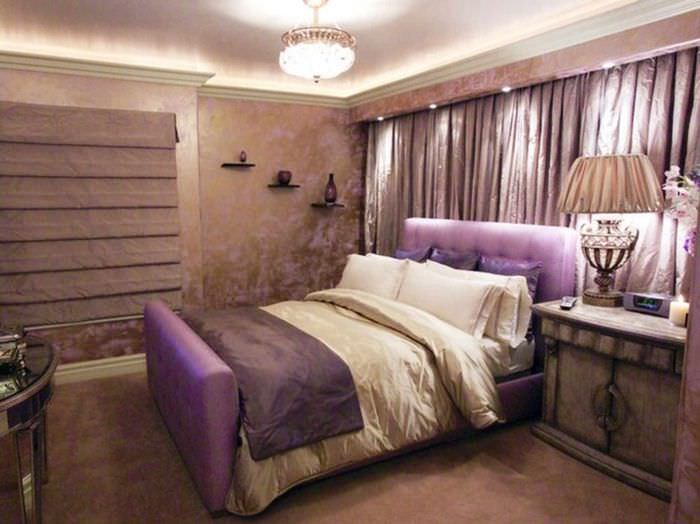 пример красивого дизайна спальни