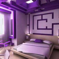 пример светлого дизайна спальни фото