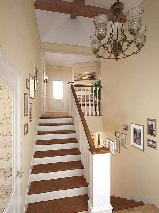используется для ремонт на лестнице в частном доме фото каждой