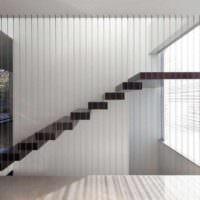 идея необычного дизайна лестницы фото