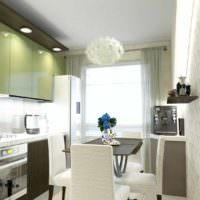 пример красивого проекта дизайна кухни фото