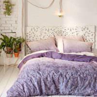 вариант красивого дизайна спальной комнаты картинка