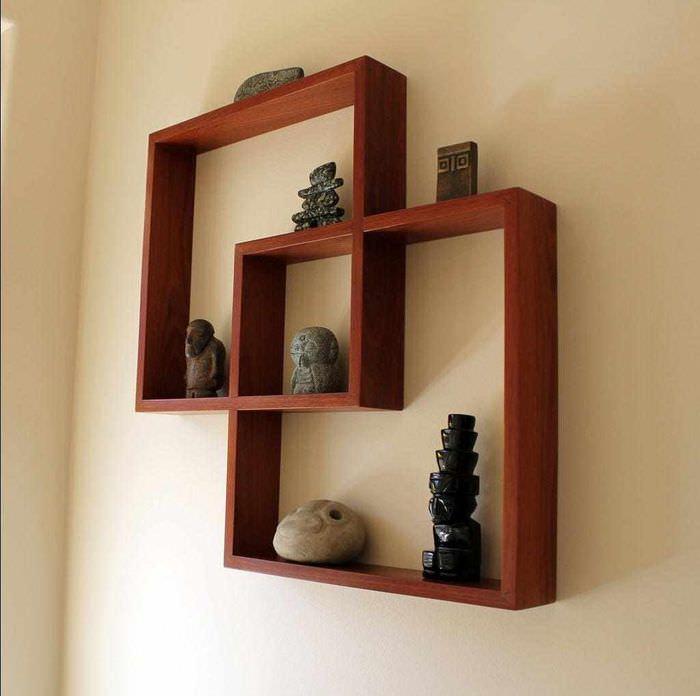 пример необычного украшения декора квартиры