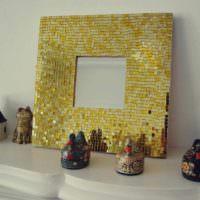 пример светлого украшения декора дома фото