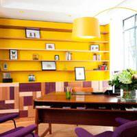 вариант красивого дизайна дома в стиле поп арт фото