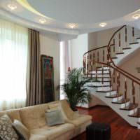 пример необычного стиля лестницы картинка