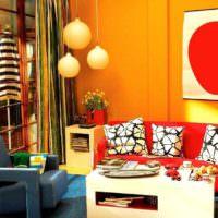 пример необычного дизайна квартиры в стиле поп арт картинка