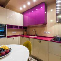 пример красивого проекта стиля кухни картинка