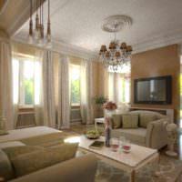пример светлого дизайна проходной фото