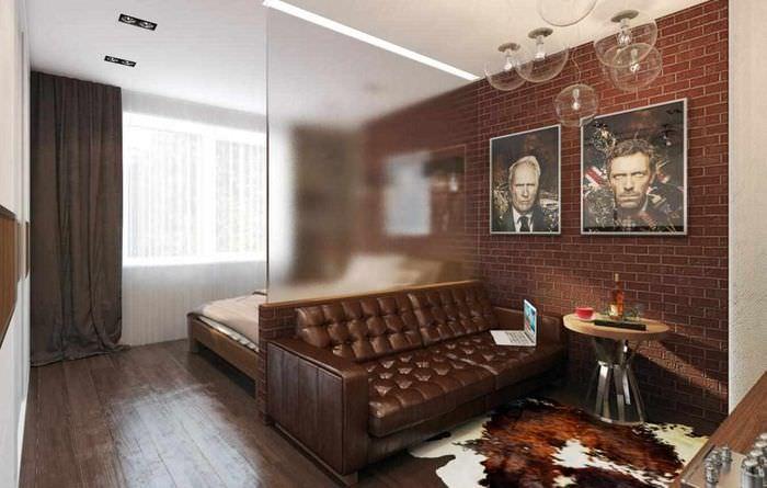 вариант светлого стиля спальни 20 метров