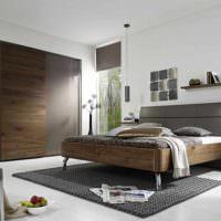 пример красивого проекта стиля спальной комнаты картинка