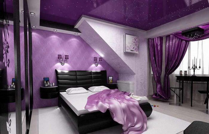 современные картинки в фиолетовом цвете фото планирования место