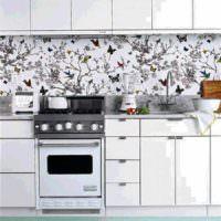 вариант необычной поделки для декора кухни картинка