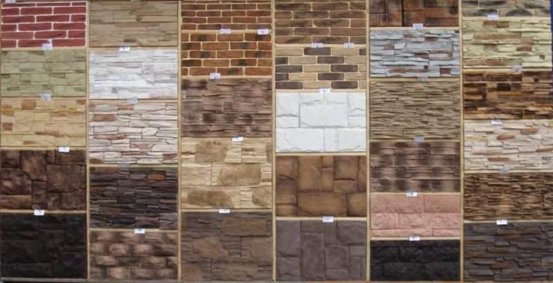 Разновидности декоративного камня для отделки стен