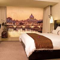 Фотообои в восточном стиле в спальне