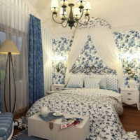 Французский стиль в дизайне спальни 12 кв м