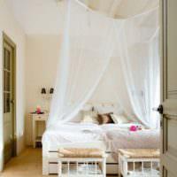 Европейский стиль в убранстве спальни 12 кв м