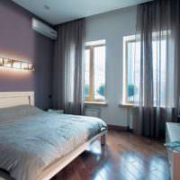 Интерьер спальни в панельном доме