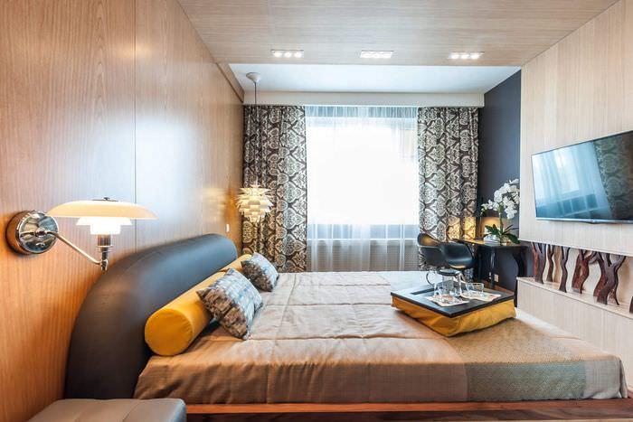 Спальня площадью в 12 кв метров в скандинавском стиле