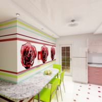 пример яркого дизайна дома в стиле поп арт фото