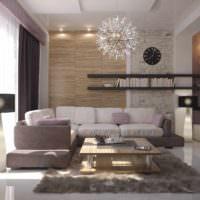 идея яркого украшения интерьера комнаты фото