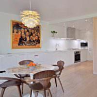 вариант необычного интерьера дома в стиле поп арт фото