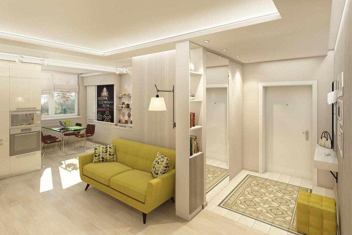 пример красивого стиля гостиной