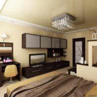 пример красивого стиля гостиной 20 метров картинка