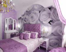 пример красивого дизайна спальной комнаты
