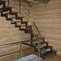 идея яркого стиля лестницы картинка
