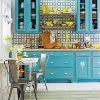 вариант красивой поделки для интерьера кухни фото