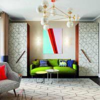 идея необычного декора квартиры в стиле поп арт картинка