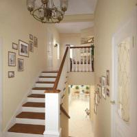 идея необычного стиля лестницы в честном доме фото
