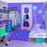 вариант красивого интерьера спальни фото