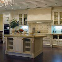пример красивого проекта дизайна кухни картинка