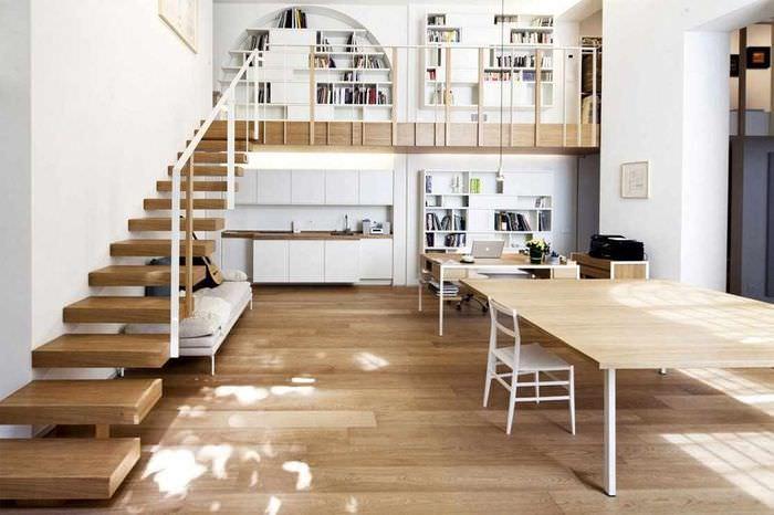 идея необычного дизайна лестницы