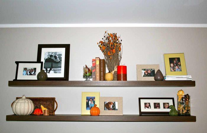 вариант светлой поделки для декора квартиры