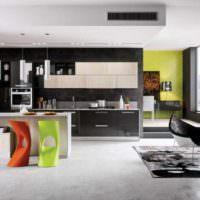 вариант необычного дизайна квартиры в стиле поп арт картинка