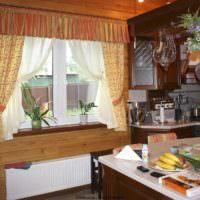 пример красивой поделки для стиля кухни фото