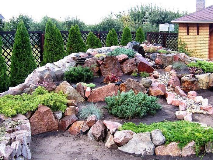 Много глины на участке дизайн фото