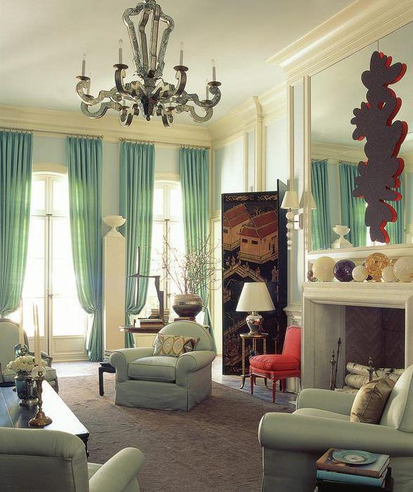 Модные тенденции в интерьере гостиного помещения