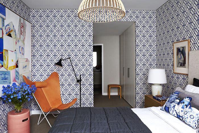 Черный цвет в дизайне жилой комнаты