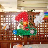 Праздничное оформление комнаты на годовщину малыша