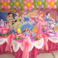 Сказочные феи в интерьере детской комнаты на день рождения
