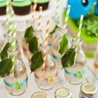 Праздничная сервировка стола на детский день рождения