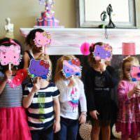 Маски своими руками для детского дня рождения