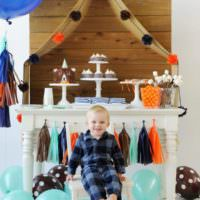 Декор комнаты для проведения дня рождения ребенка